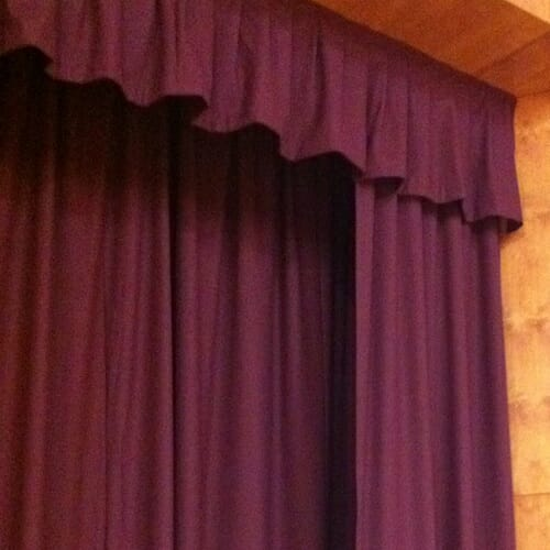 Valance Theatre Curtains For Any Stage