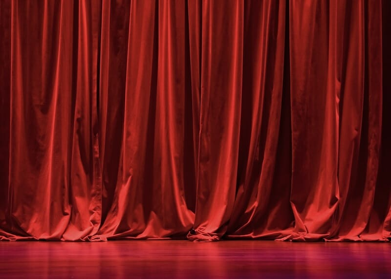 Theatre Curtain Finishes Explained