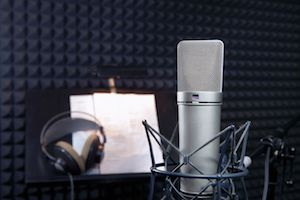 Sound isolation for studios