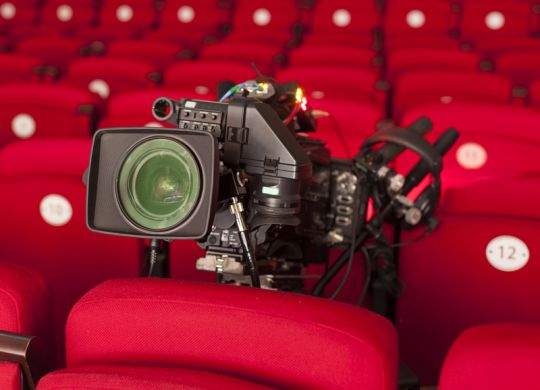theatre captioning technology