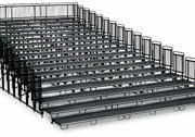 Upper Deck Audience Seating Tiered Risers