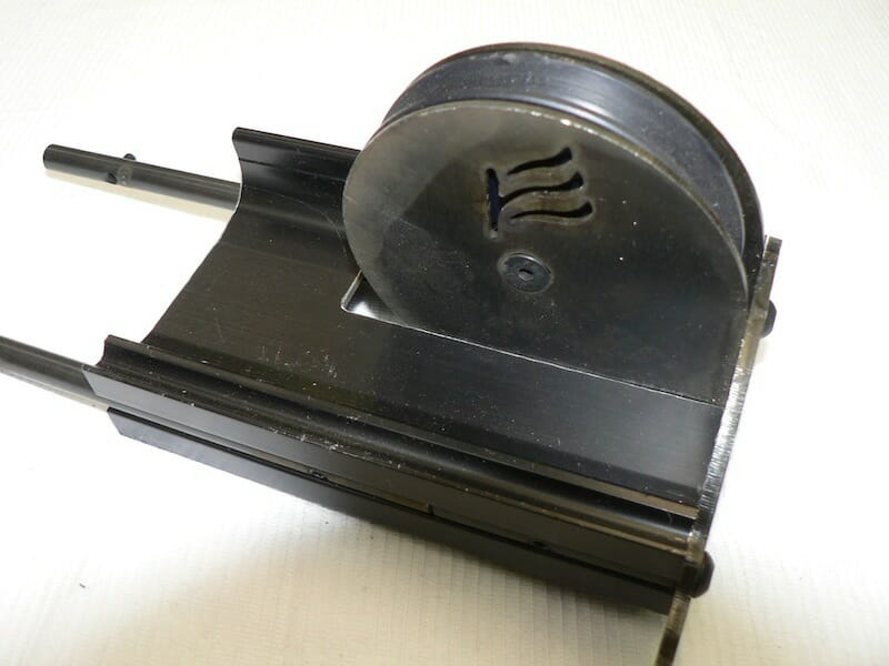 Return Pulley for Overlapping Tracks
