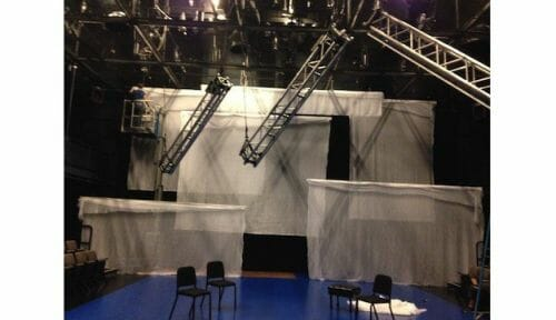 uses of scrim in theatre sets